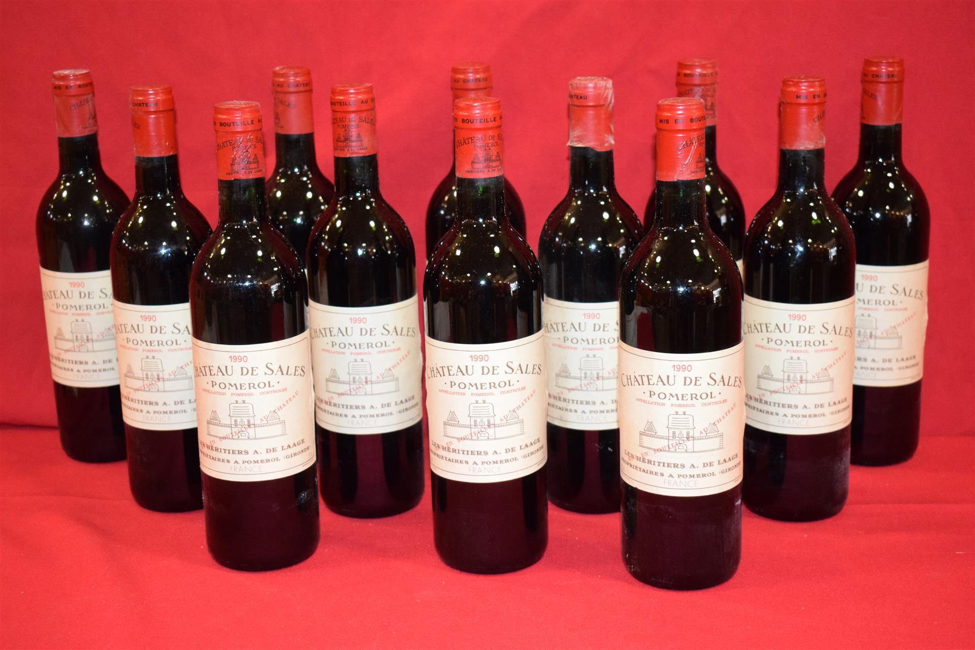 Vente Vins et Alcools chez Biarritz Enchères : 159 lots