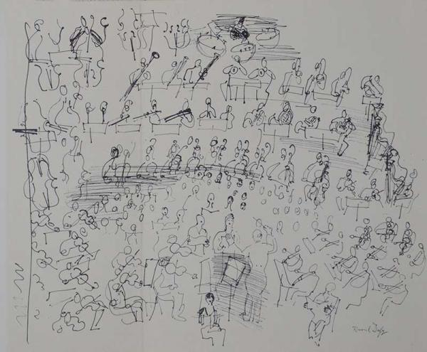DUFY Raoul (1877-1953) - Lithographie