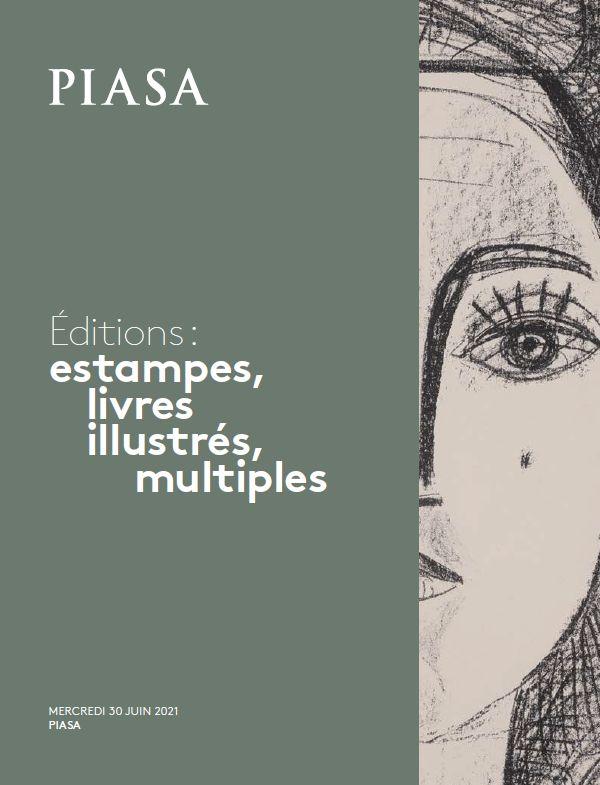 Vente Editions : Estampes, Livres Illustrés, Multiples chez Piasa : 228 lots