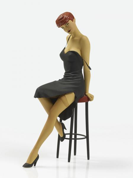 Berthet, Phiippe  - Pin-up !  - Fariboles Production, Pin Up au tabouret, statuette [...]