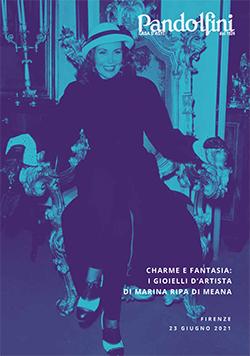 Vente Charme et Fantaisie : Les Bijoux d'artiste de Marina Ripa di Meana (Firenze) chez Pandolfini Casa d'Aste : 43 lots