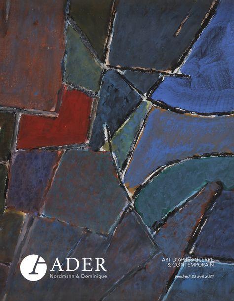 Vente Art d'Après-Guerre et Contemporain chez Ader : 195 lots