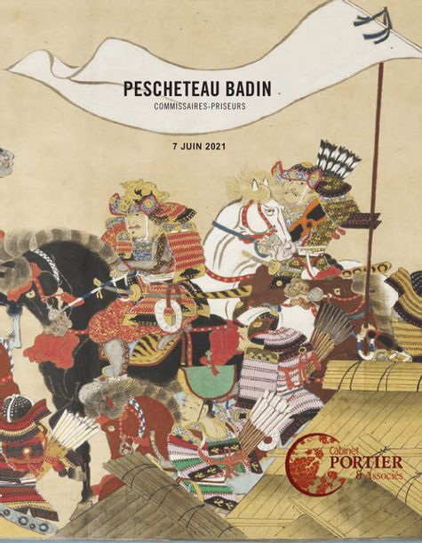 Vente Arts d'Asie chez Pescheteau-Badin : 283 lots