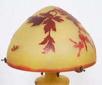 Lampe Champignon De Emile Galle En Pate De Verre Pied De Lampe