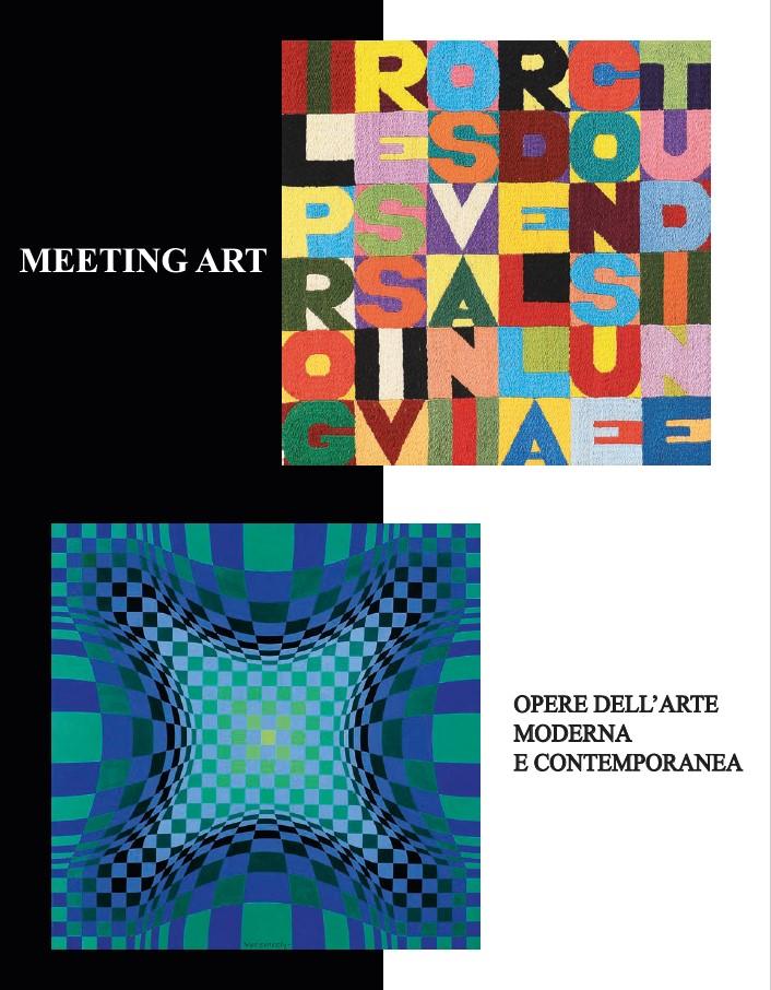 Vente Art Moderne et Contemporain chez Casa delle Aste Meeting Art s.p.a. : 120 lots
