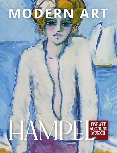 Vente Catalogue V - Art moderne & Impressionniste, Peintures des XIXe et XXe siècles, Art russe chez Hampel Fine Art Auctions : 192 lots