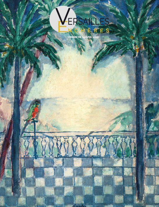 Vente Impressionnisme et Art Moderne - Arts Décoratifs du XXème siècle chez Versailles Enchères  : 187 lots