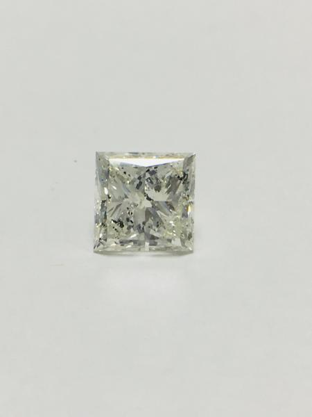 2.50ct Princess cut natural diamond,H colour,si3 clarity,diamond is tested as clarity [...]
