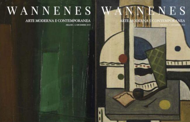 Vente Art Moderne et Contemporain (Milano) chez Wannenes Art Auctions : 145 lots