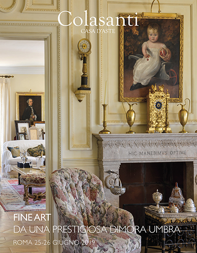 Vente Fine Art from an Umbrian Property chez Colasanti Casa d'Aste : 494 lots
