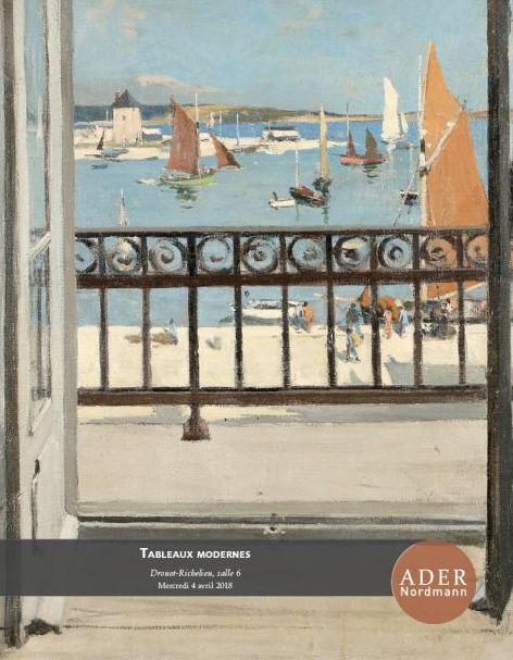 Vente Tableaux Modernes chez Ader : 203 lots