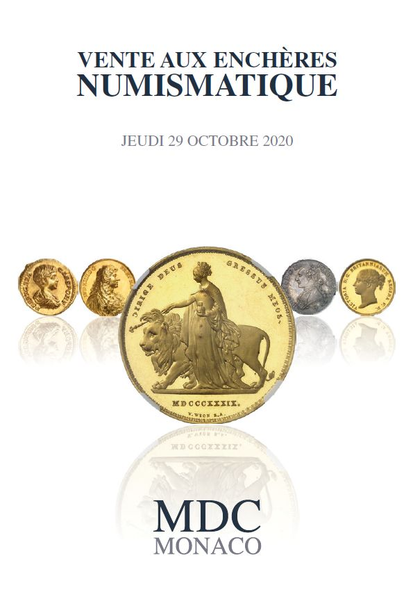 Vente Numismatique n°6 chez MDC Monnaies de Collection : 1242 lots