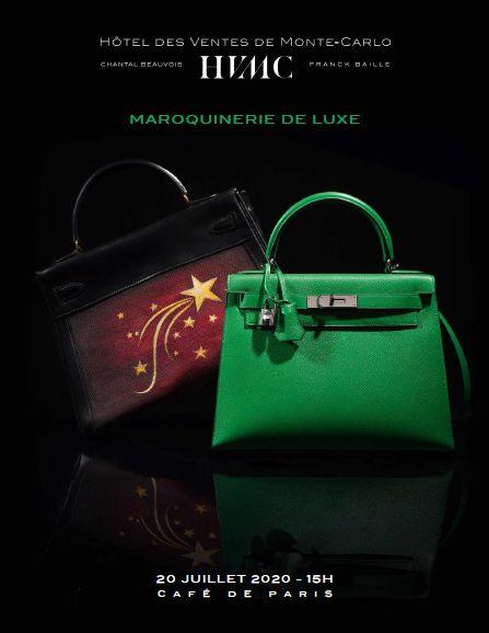 Vente Maroquinerie de Luxe chez Hôtel des Ventes de Monte-Carlo : 98 lots