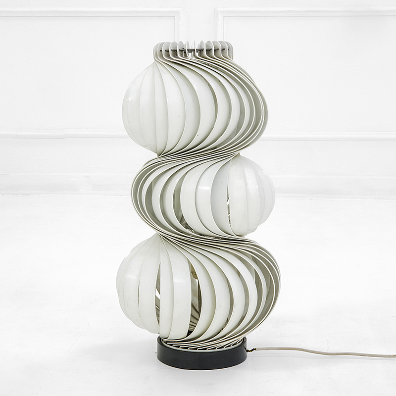 Lampada Da Terra Valenti.Olaf Von Bohr Lampada Da Terra Alluminio Smaltato Prod Valenti