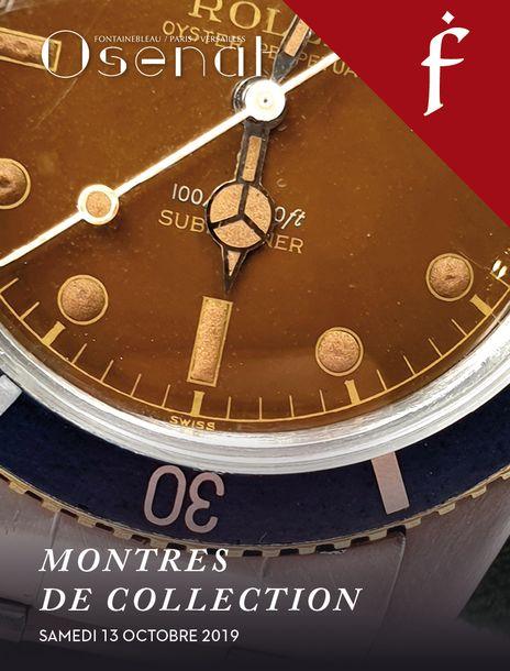 Vente Montres de Collection, Horlogerie (Fontainebleau) chez Osenat : 77 lots