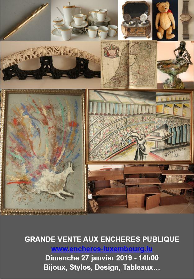 Vente Bijoux, Stylos, Design, Tableaux... chez Kanerz Art : 358 lots