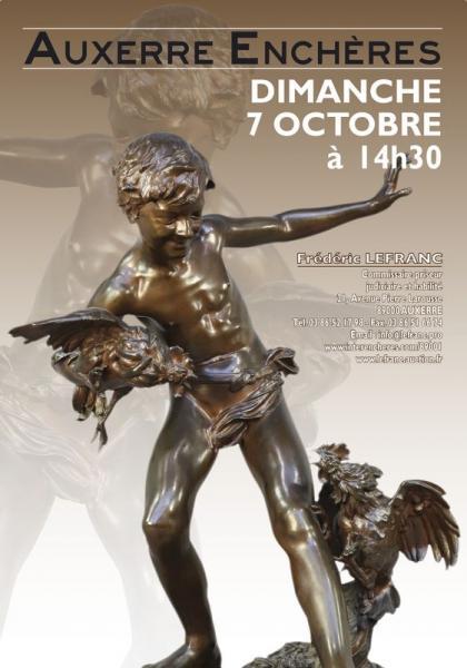 9cce0f6066b Catalogue de la vente Belle Vente Mobilière à Auxerre Enchères - Fin de la  vente le 07 Octobre 2018