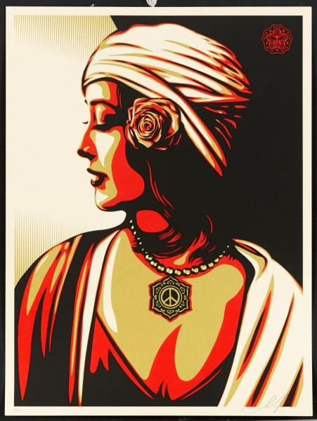 SHEPARD FAIREY (OBEY GIANT DIT)  - OBEY HARMONY PRINT, 2011  - Impression offset en [...]