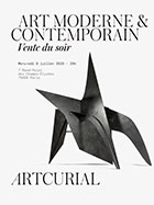 Vente Art Moderne chez Artcurial : 31 lots