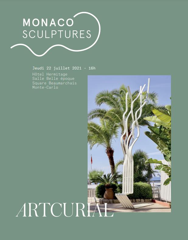 Vente Monaco Sculptures (Monaco) chez Artcurial : 51 lots