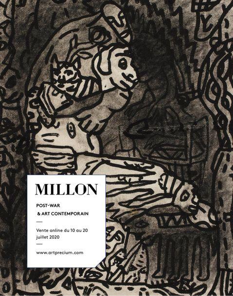 Vente Post War & Art Contemporain chez Millon et Associés Paris : 87 lots