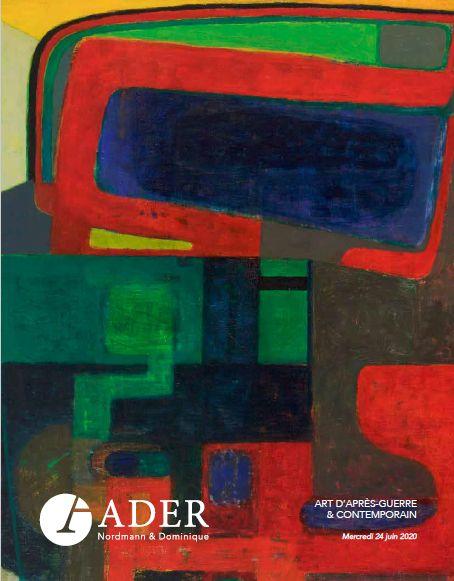 Vente Art d'Après-Guerre et Contemporain chez Ader : 119 lots