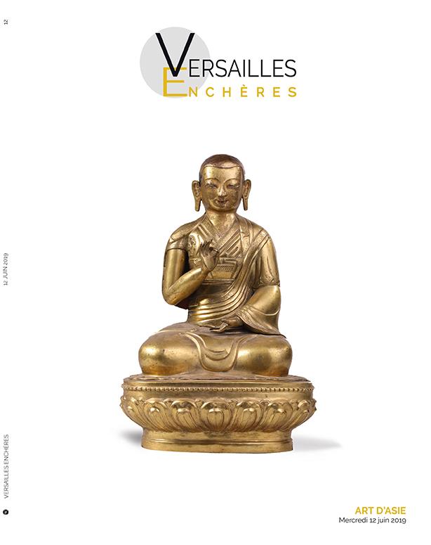 Vente Art d'Asie chez Versailles Enchères  : 186 lots