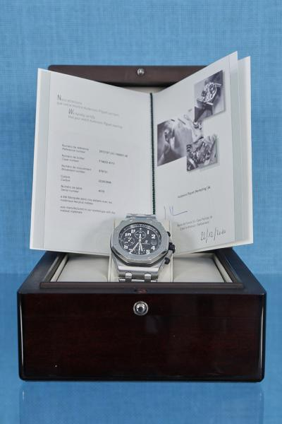 Audemars Piguet  - Royal Oak Offshore ref. 25721ST, n° 4310 / F14022 circa [...]