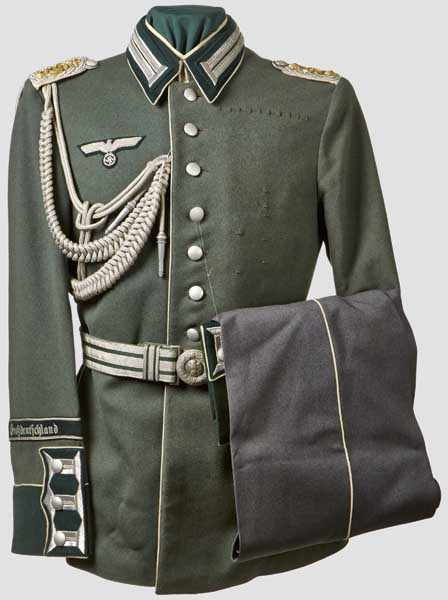 A Uniform for Officers of the Großdeutschland Division Finely