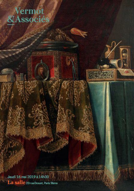 Vente Tableaux Anciens et Modernes, Sculptures, Bibelots, Objets d'Art chez Vermot et Associés : 192 lots