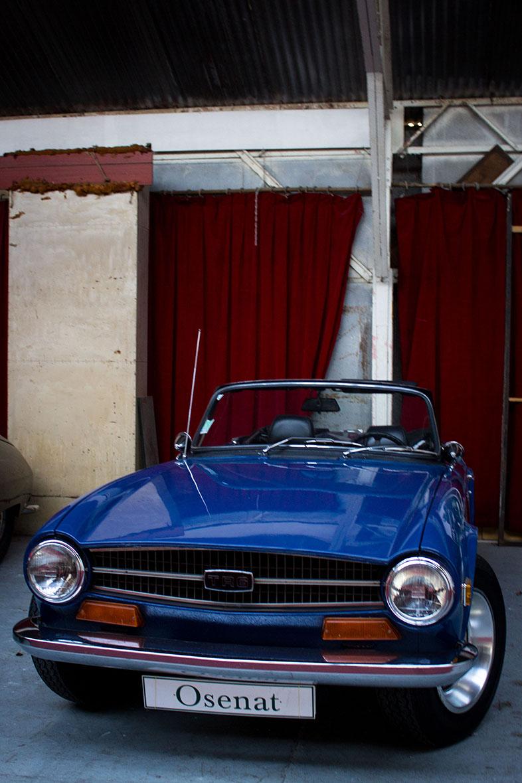 1972 Triumph Tr6 Chassis Ncf117ou Carte Grise De Collection En 1952