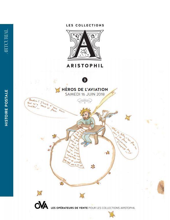 Vente Histoire Postale  Héros de l'aviation - Les Collections Aristophil chez Artcurial : 76 lots