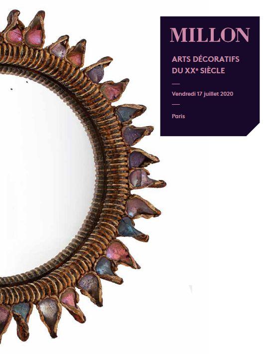 Vente Les Arts Décoratifs du XXe siècle chez Millon et Associés Paris : 282 lots