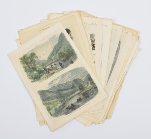 [Graphic arts, paintings & drawings 16th-19th century] [The Illustrated London News] [...]