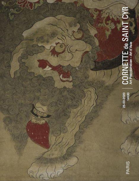 Vente Art Précolombien - Art d'Asie - Nouvelle Date chez Cornette de Saint Cyr Paris : 292 lots
