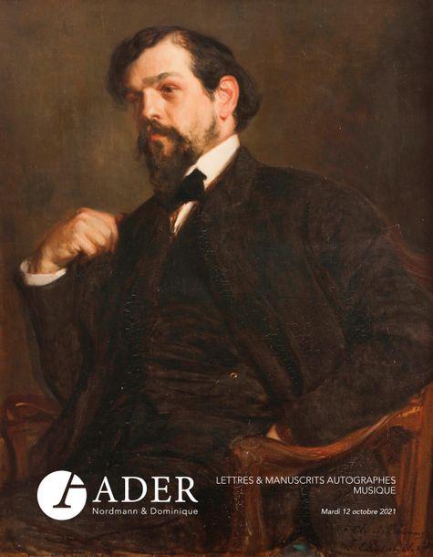 Vente Lettres et Manuscrits Autographes - Musique chez Ader : 368 lots