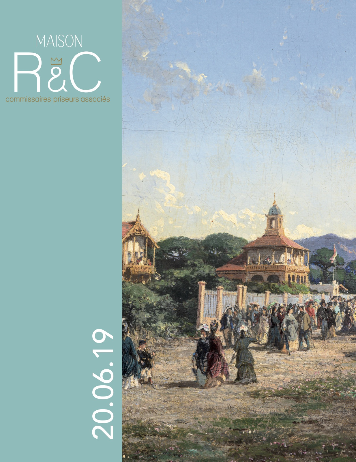 Vente Tableaux XIXe - XXe  chez Maison R&C Commissaires-Priseurs Associés : 149 lots