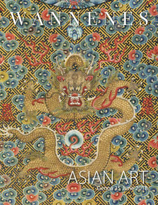 Vente Asian Art (Genova) chez Wannenes Art Auctions : 196 lots