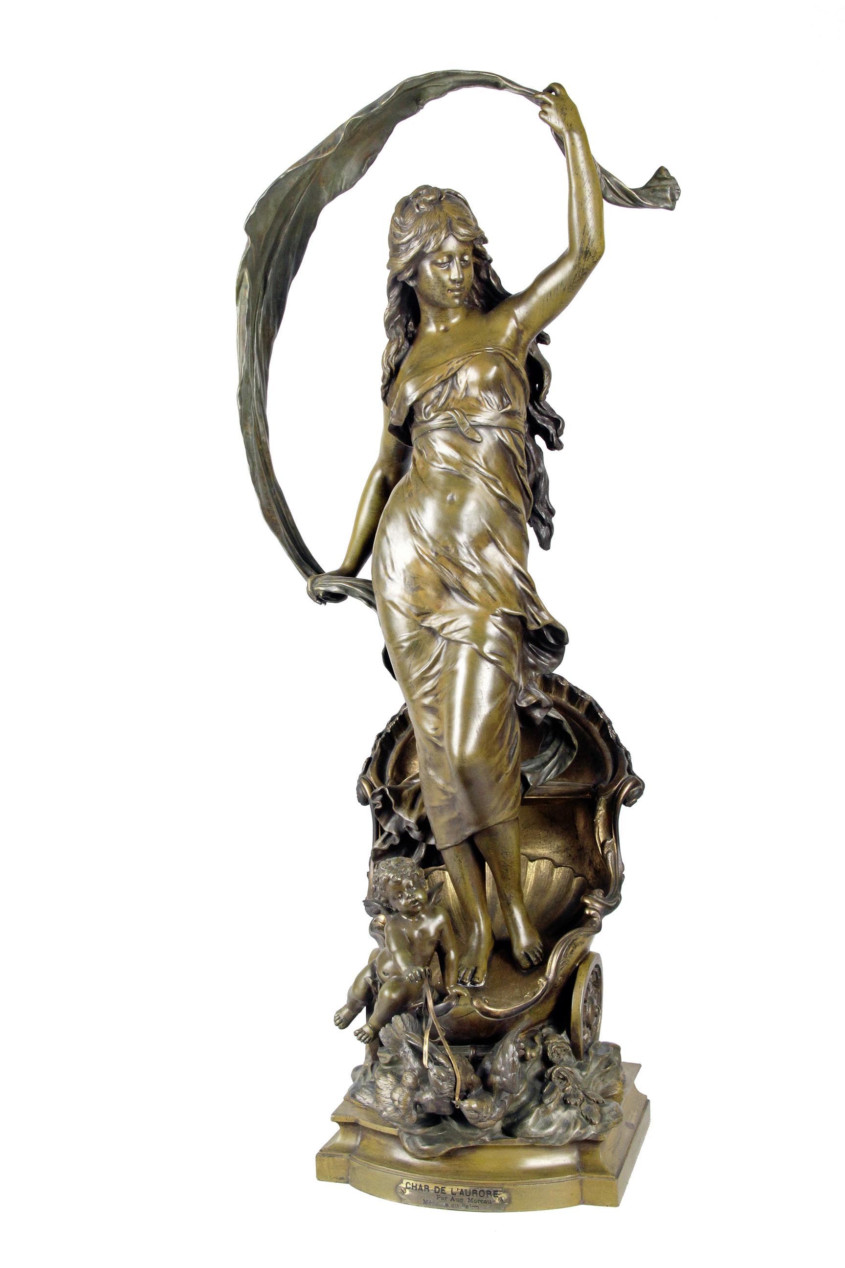 4d5cd8e558c Auguste MOREAU - 1834-1917 - LE CHAR DE L AURORE