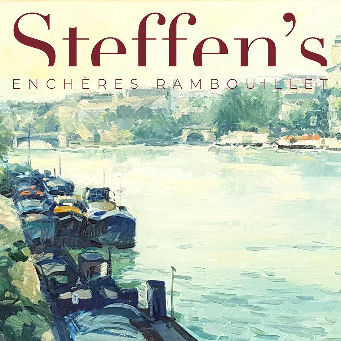 Vente Tableaux Anciens et Modernes, Estampes, Maquettes d'Affiches de Cinéma chez STEFFEN'S Enchères Rambouillet : 168 lots