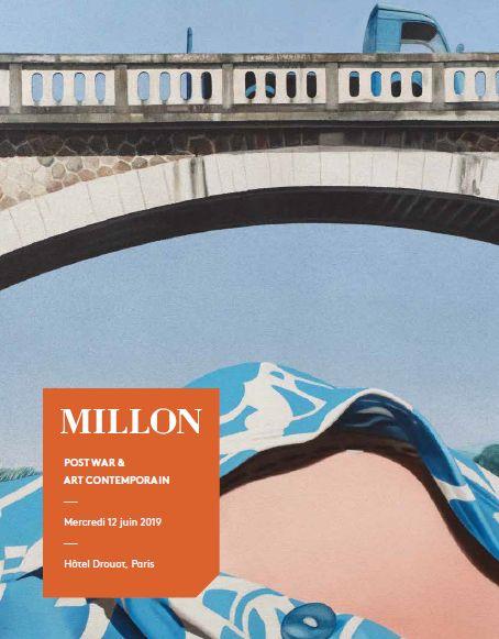 Vente Post War & Art Contemporain chez Millon et Associés Paris : 108 lots