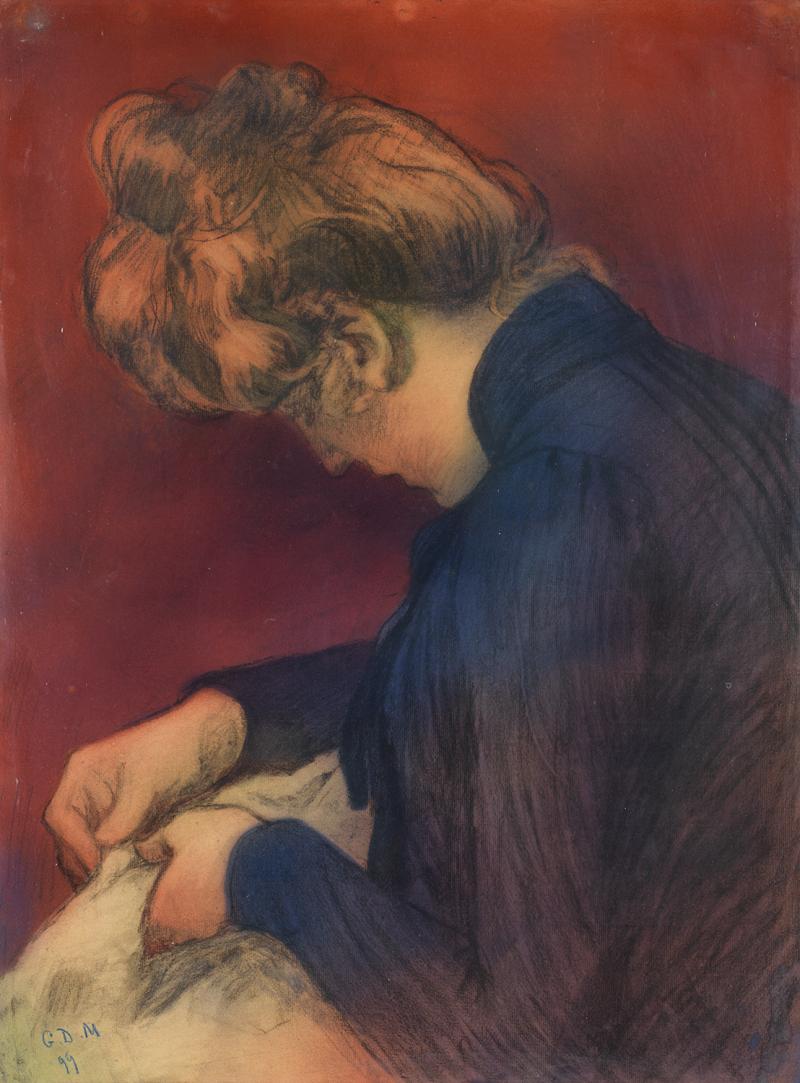 Georges-Daniel de Monfreid (1856-1929) - Portrait de femme - Pastel..., Art  Impressionniste et Moderne à Tajan | Tajan