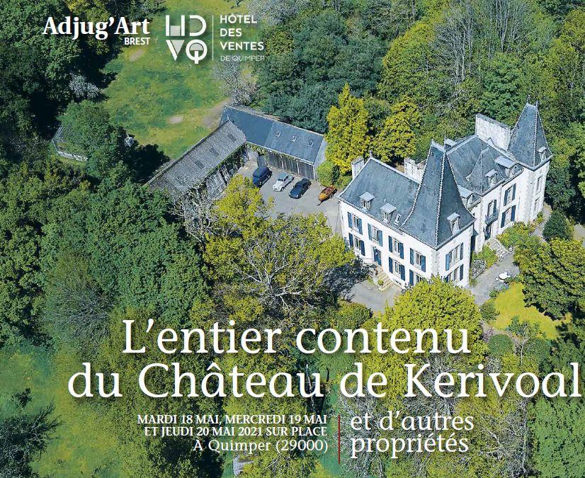 Auction L'Entier Contenu du Château de Kerivoal et d'autres Propriétés at Adjug'art : 438 lots
