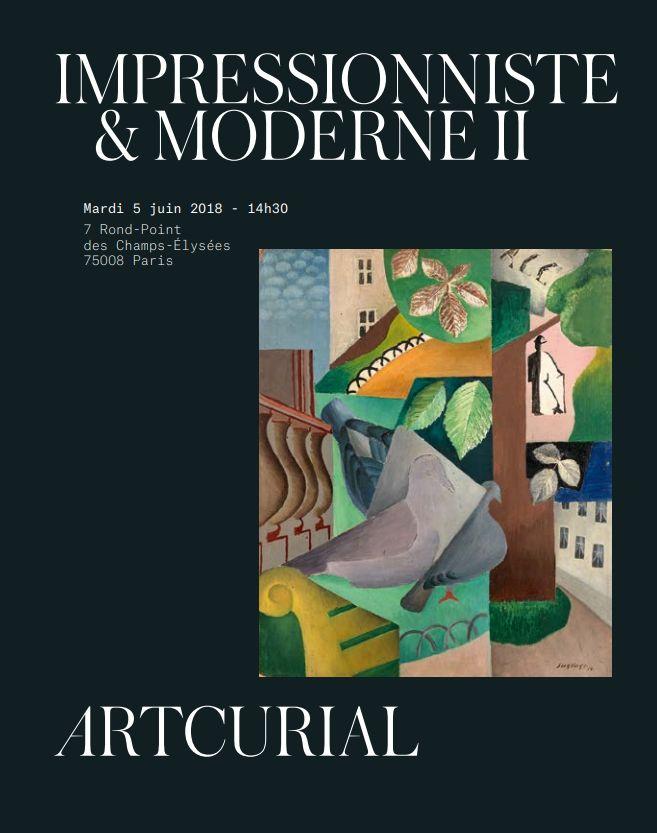 Vente Impressionniste & Moderne II chez Artcurial : 115 lots