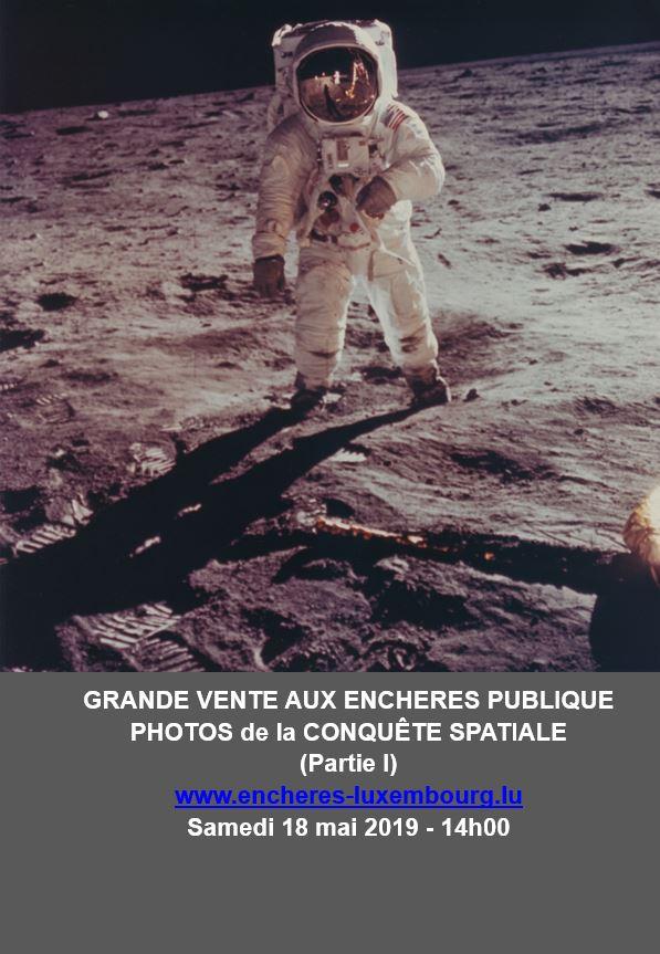 Vente Conquêtes spatiales : Photos de la NASA, Affiches, Journaux de l'époque chez Kanerz Art : 208 lots