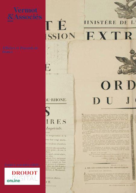 Vente Affiches et Placards de France chez Vermot et Associés : 615 lots