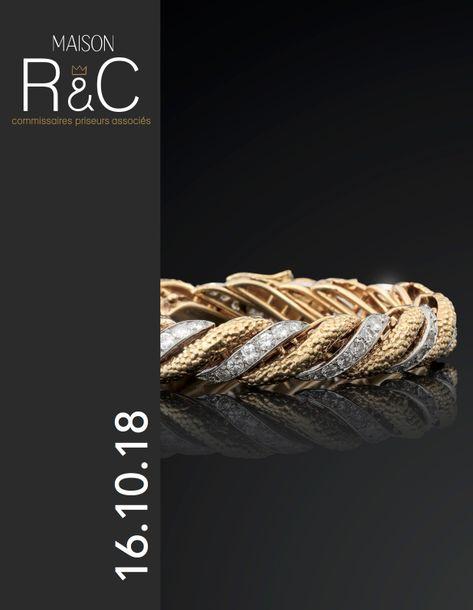 Vente Bijoux, Montres de collection, Maroquinerie de Luxe & Numismatique / Argenterie  chez Maison R&C Commissaires-Priseurs Associés : 292 lots