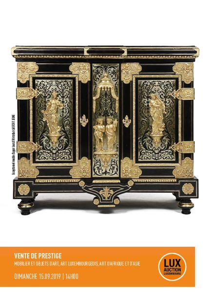 Vente Succession Peintures Luxembourgeoises, Art d'Asie et d'Afrique, Mobilier, Objet d'Art chez Lux-Auction : 322 lots