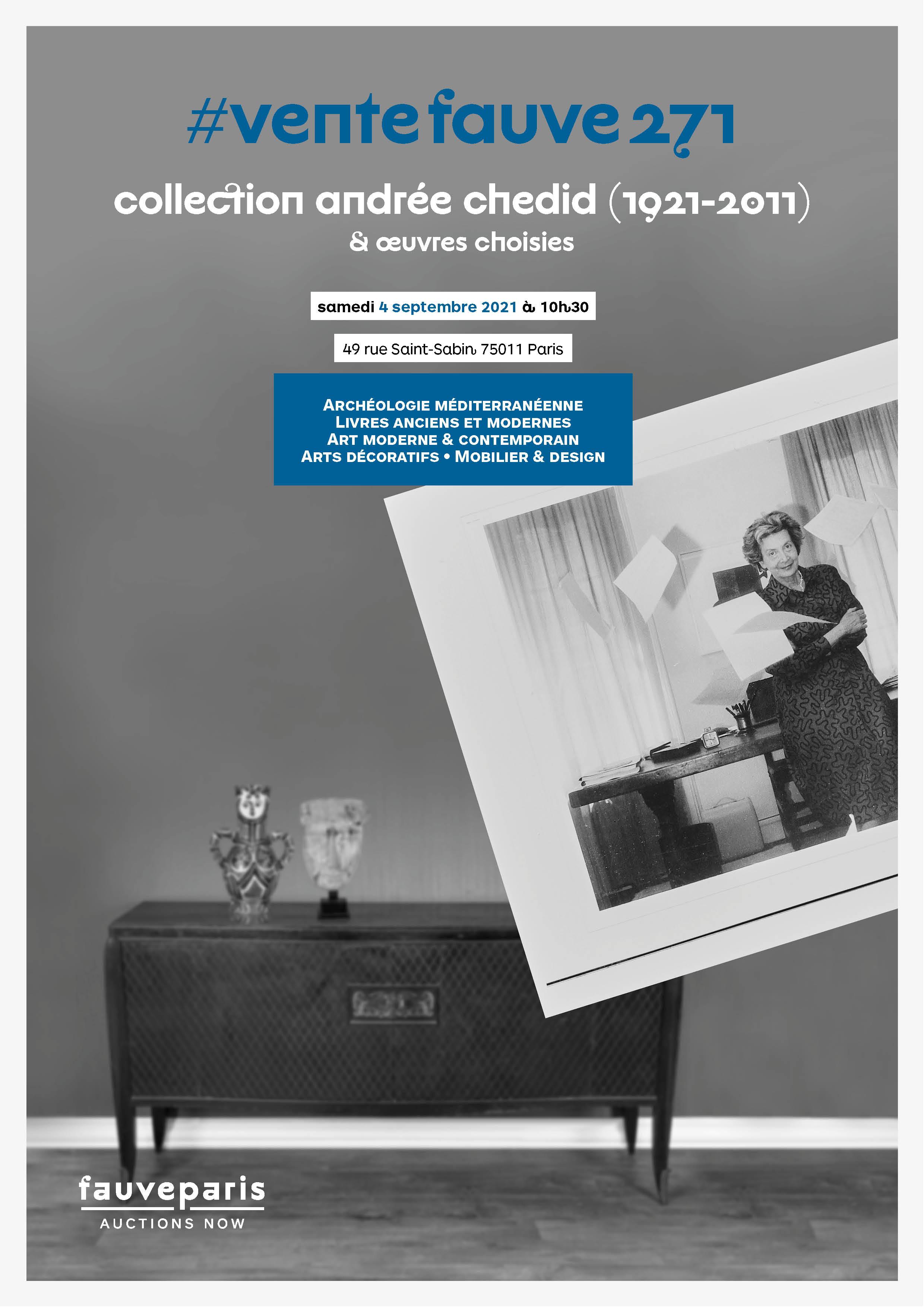 Vente Archéologie méditerranéenne • Livres anciens et modernes • Art moderne & contemporain • Arts décoratifs • Design chez FauveParis : 108 lots