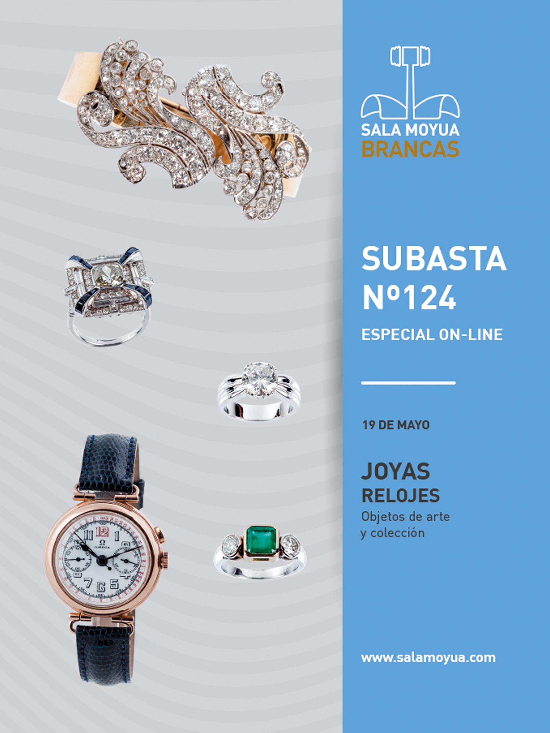 Auction Bijoux, Montres, Objets d'art et de collection at Sala Moyua Brancas : 648 lots